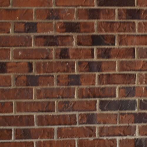 Lieu 3 - Texture de la brique vue à travers le cornet